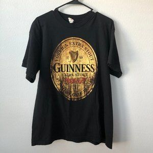 Guinness Extra Stout Mens T-Shirt Large